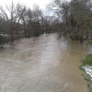 Pont de Plaisance près des écoles amont 2013-01-20 11.54.53